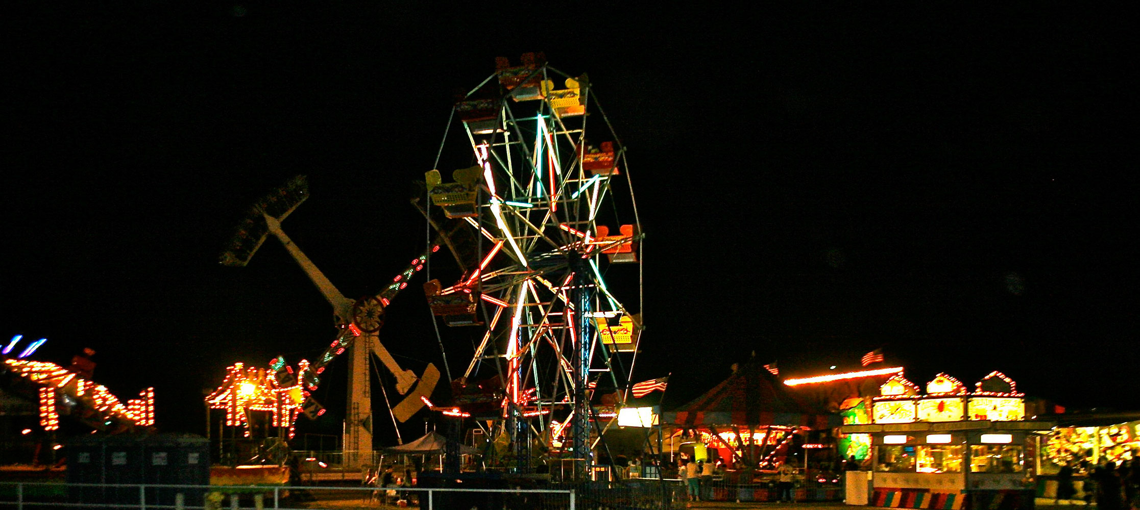 night time carnival